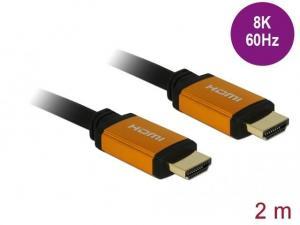 Kabel HDMI M/M v2.1 8K 60Hz czarny 2m