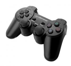 GAMEPAD PS3/PC USB TROOPER CZARNY