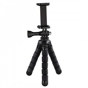 Mini statyw flex 2w1 14cm czarny