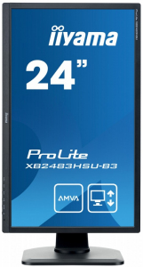 Monitor 23.8 ProLite XB2483HSU-B3 HDMI,DP,USB,AMVA,PIVOT