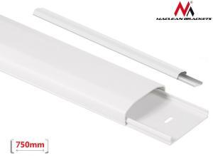 Listwa maskująca do kabli MC-695 W 60 x 20 x 750mm plastik, systemowa