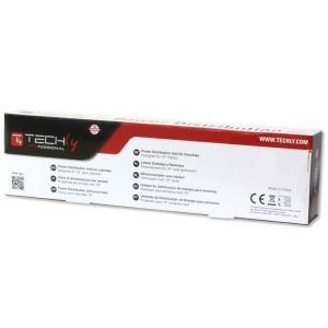 Listwa zasilająca Rack 19 cali do UPS 250V/10A, 10 gniazd, 2m czarna
