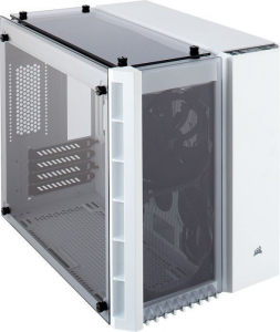 Obudowa Crystal Series 280X TG Micro ATX biała