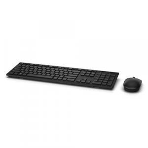 Bezprzewodowa klawiatura + mysz-KM636- US International(QWERTY)Czarna