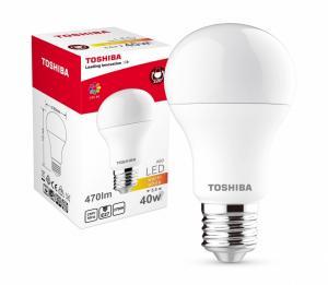 Lampa LED 5,5W 230V 470lm b.ciepły A60