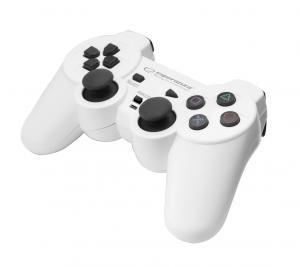 GAMEPAD PS3/PC USB TROOPER BIAŁO/CZARNY