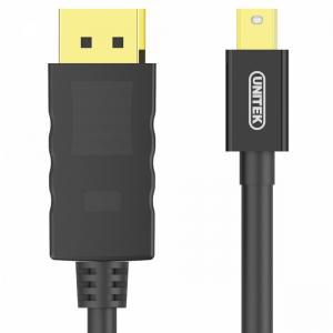 Kabel miniDisplayPort/DisplayPort M/M 2m;Y-C611BK