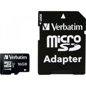 Micro SDHC 16GB Class10 UHS-I + Adapter