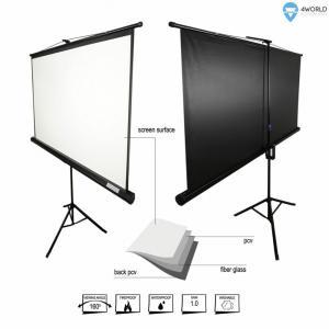 Ekran projekcyjny ze statywem 145x110 (72'',4:3) biały mat