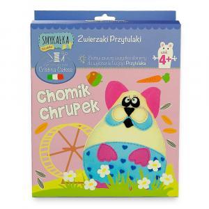 Zestaw kreatywny Smykałka Przytulanka - Chomik Chrupek
