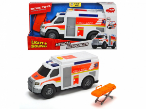 Ambulans biały 30 cm