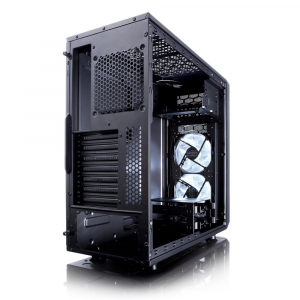 Focus G Black Window 3.5 HDD/2.5'SDD uATX/ATX/ITX