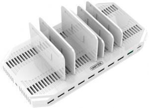 Stacja ładująca 10 x USB 160 W, QC3.0, USB-C, Y-2190