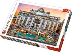 500 elementów Fontanna di Trevi, Rzym