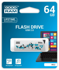 CLICK 64GB USB2.0 WHITE