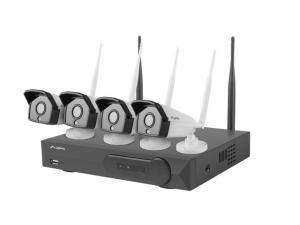 Zestaw do monitoringu Rejestrator NVR 4 kanałowy WiFi + 4 kamery IP WiFi 2Mpx z akcesoriami