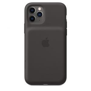 Etui Smart Battery Case do iPhone'a 11 Pro z możliwością bezprzewodowego ładowania - czarne