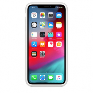 Etui Smart Battery Case do iPhonea XS Max - białe