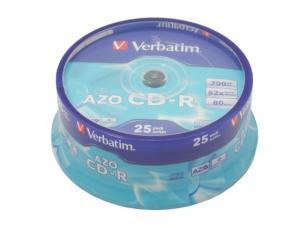 CD-R 52x 700MB 25P CB Azo 43352