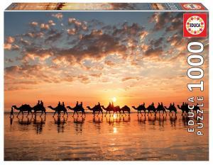 Puzzle 1000 elementów Zachód słońca w Cable Beach,Australia