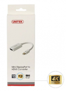 Adapter mini DisplayPort- HDMI 4K; Y-6331