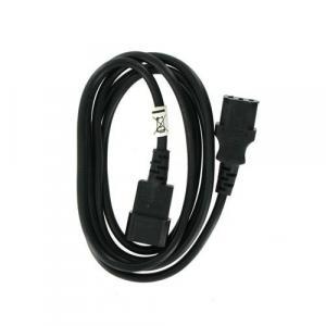 Kabel zasilajacy przedłużający IEC320 C13/C14 1.8m retail
