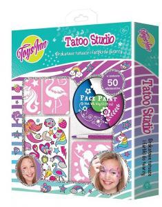 Zestaw farb do twarzy i tatuaży