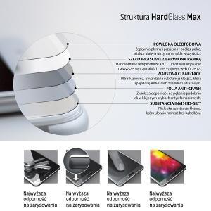 Szkło hartowane HardGlass Max Samsung A405 A40 czarny FullScreen