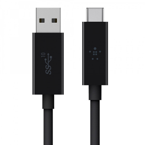 Kabel USB-C do USB A 3.1 1m czarny