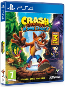 Gra PS4 Crash Bandicoot N. Sane Trilogy