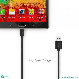 CB-D9 Black szybki kabel Quick Charge micro USB-USB | 2m | 5A | 480 Mbps