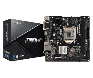 Płyta główna H310CM-HDV s1151 2DDR4 HDMI/DVI/D-SUB uATX