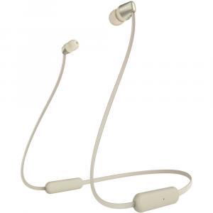 Słuchawki bezprzewodowe douszne WI-C310 zlote