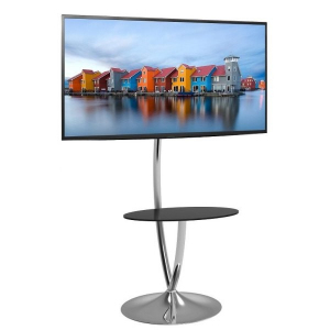 Stojak podłogowy LCD/LED 32-70cali szklana półka, 68kg