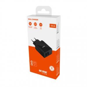 Ładowarka sieciowa USB CH205 2p/3,4A/17W