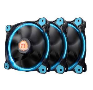 Riing 12 LED Blue 3 Pack (3x120mm, LNC, 1500 RPM) Retail/Box