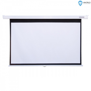 Ekran projekcyjny ścienny + kabel HDMI gratis 221x124 (100cali,16:9) Matt White