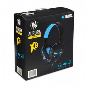 Słuchawki X8 Gaming z mikrofonem