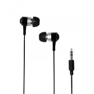 Słuchawki do Mp3/telefonu, douszne - czarne
