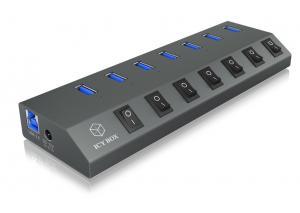 IB-HUB1701-U3 7-portówy USB 3.0 HUB