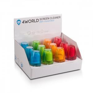 Zestaw czyszczący 12x50ml mix kolorów ekspozytor