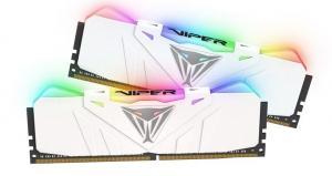 Pamięć DDR4 Viper RGB LED 2x8GB 3000MHz White