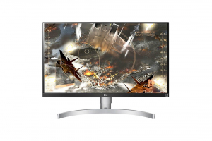 Monitor 27UL650-W 27 cali 4K IPS HDR10 FreeSync Pivot