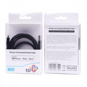 Kabel Lightning-USB 1.5m czarny MFi