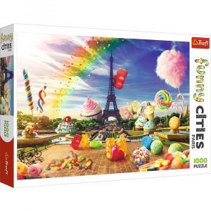 Puzzle 1000 elementów Słodki Paryż