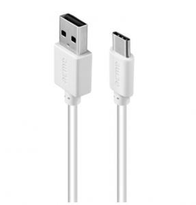 Kabel TypC (M) - USB Typ A(M) CB1041W 1m biały