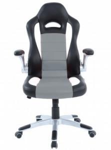 Fotel Aurora GT2 Gaming czarno-szary