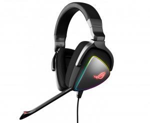 Słuchawki ROG Delta RGB ESS Quad-DAC, Hi-Res, USB-C