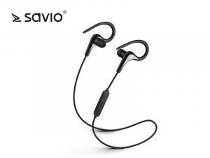 Bezprzewodowe słuchawki Bluetooth v.4.2 z mikrofonem Savio WE-03 Sport