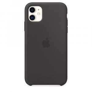 Silikonowe etui do iPhone 11 - czarne